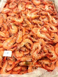 Thai Whole Cooked Vannamei Prawns 20/30, 5kg